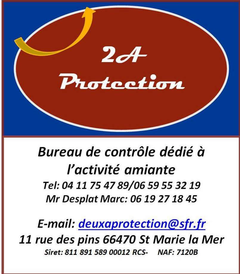 2A PROTECTION AMIANTE